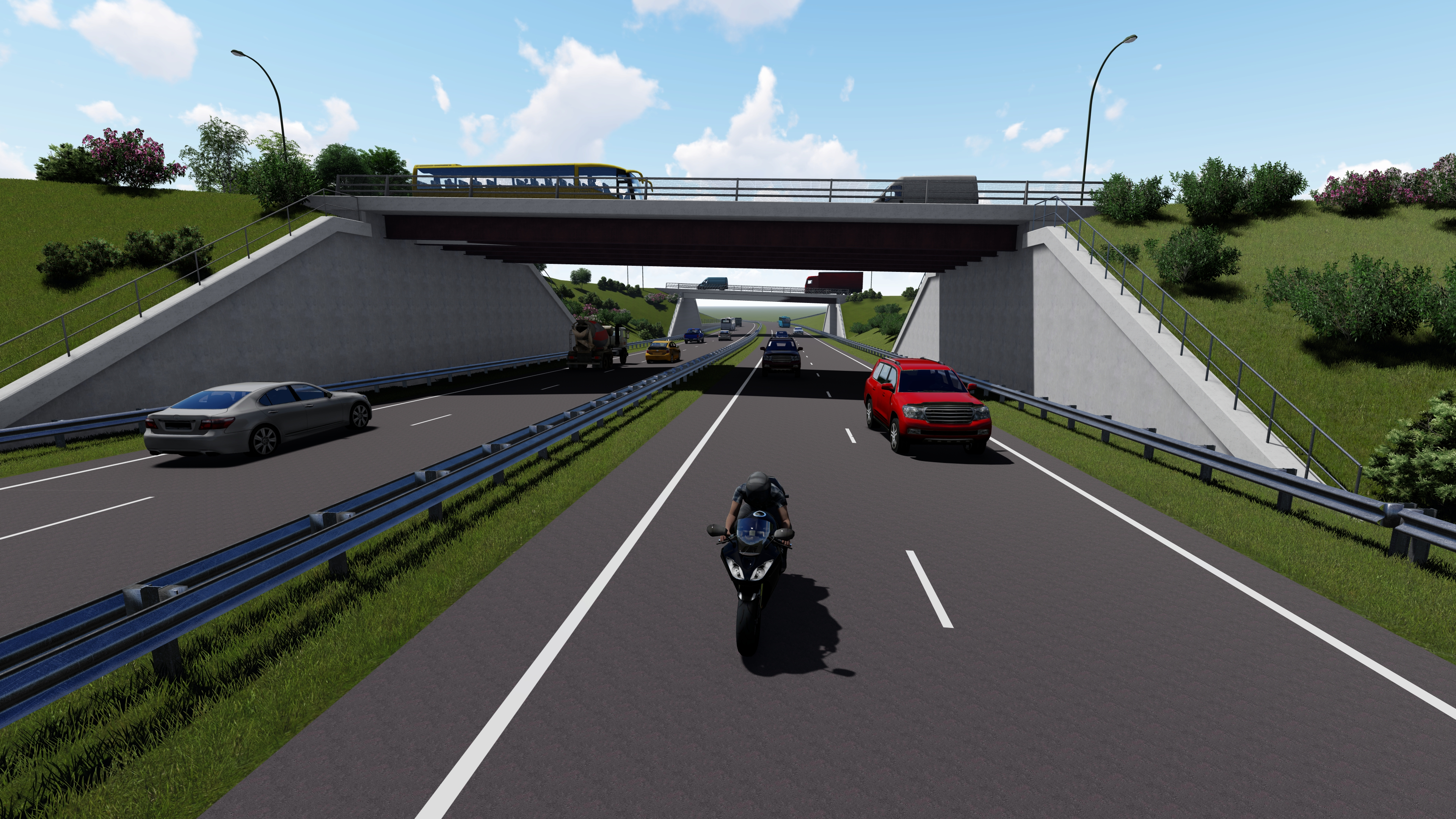 Bridge End junction artist's impression