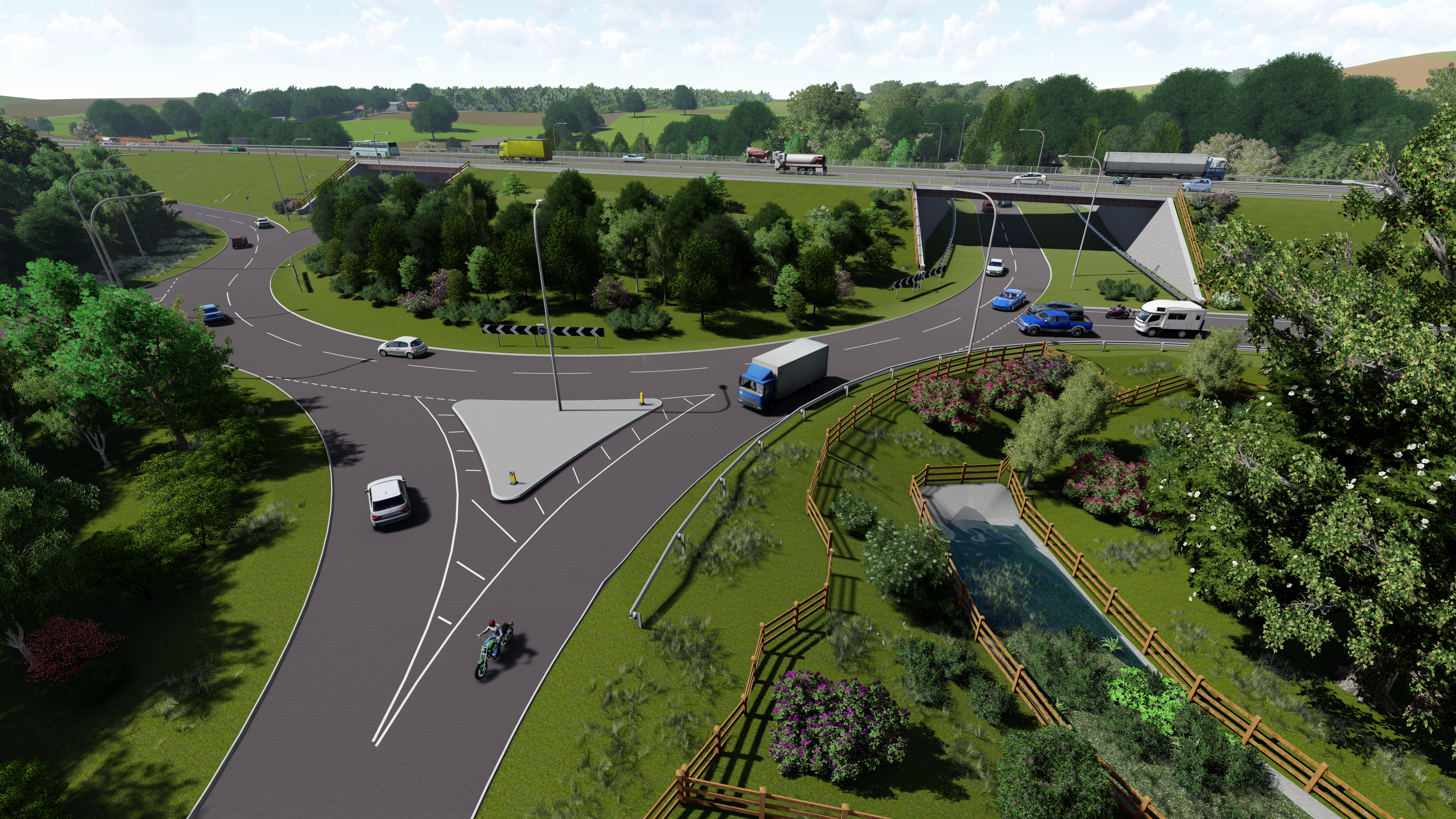 Styford junction artist's impression