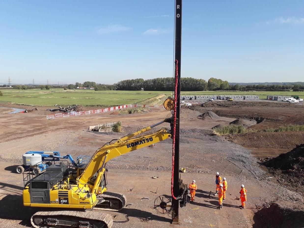 ground consolidation work