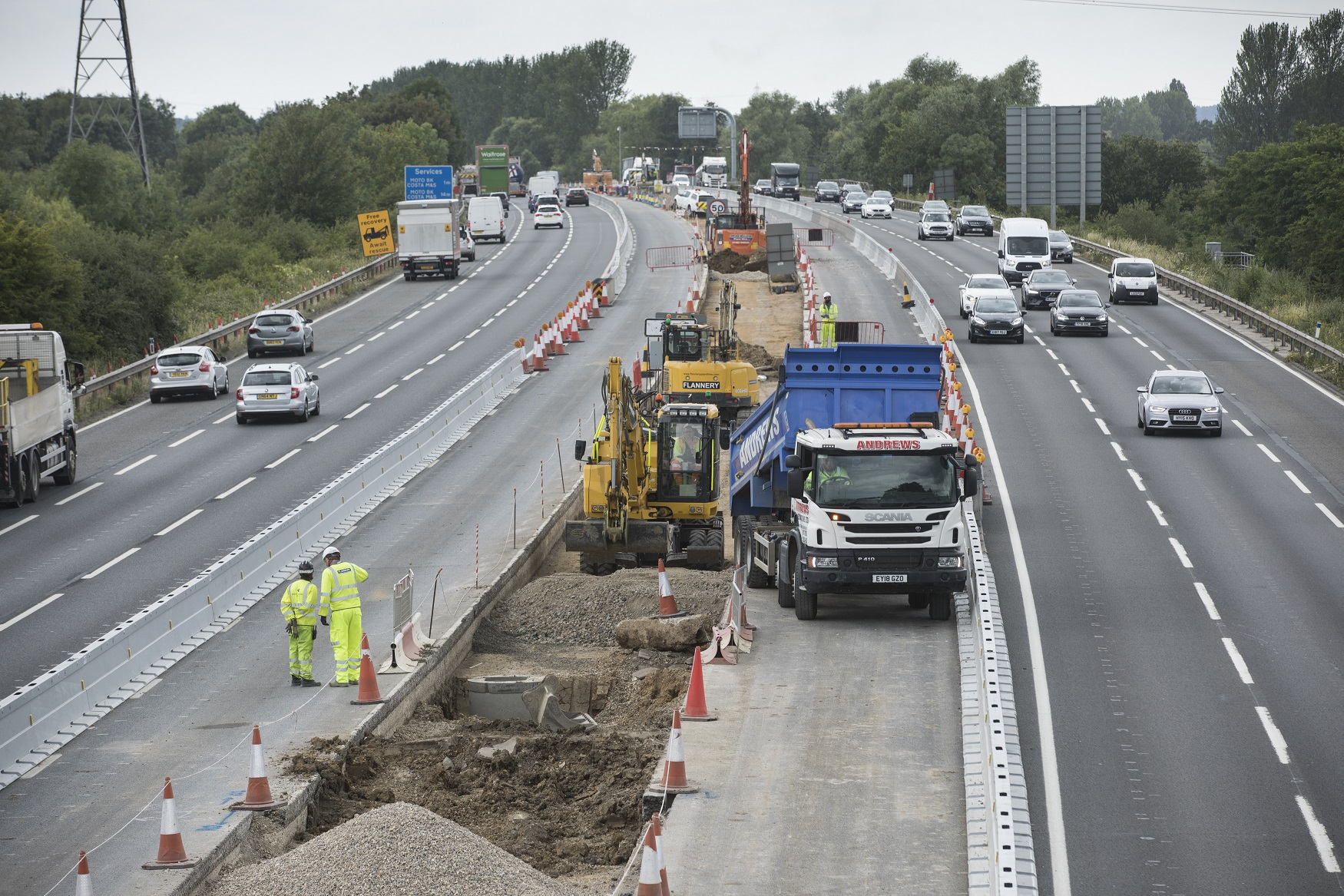 Improvements and major road projects   M4 junctions 3-12